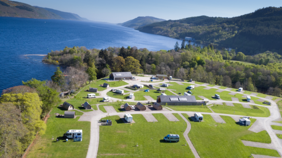 Loch Ness Shores Camping & Caravaning Club Site