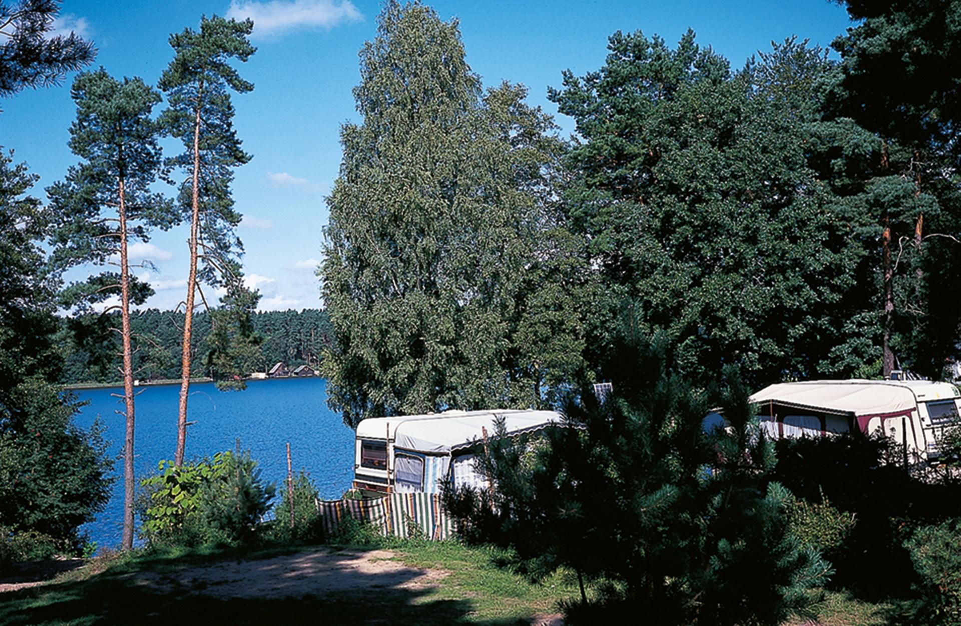 Naturcamping Am Großen Palitzsee