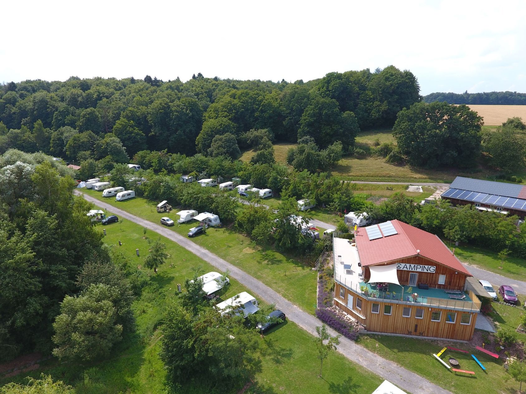 Duitsland-Ebrach-Camping%20Weihersee-ExtraLarge Campings Duitsland