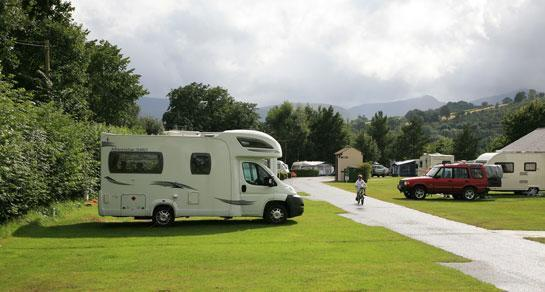 Beacons Caravan and Motorhome Club Site