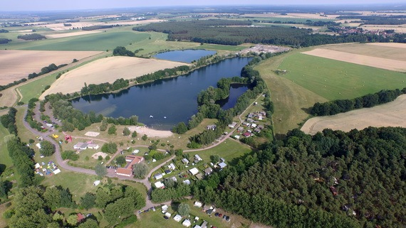 Camping am  Zabakucker See