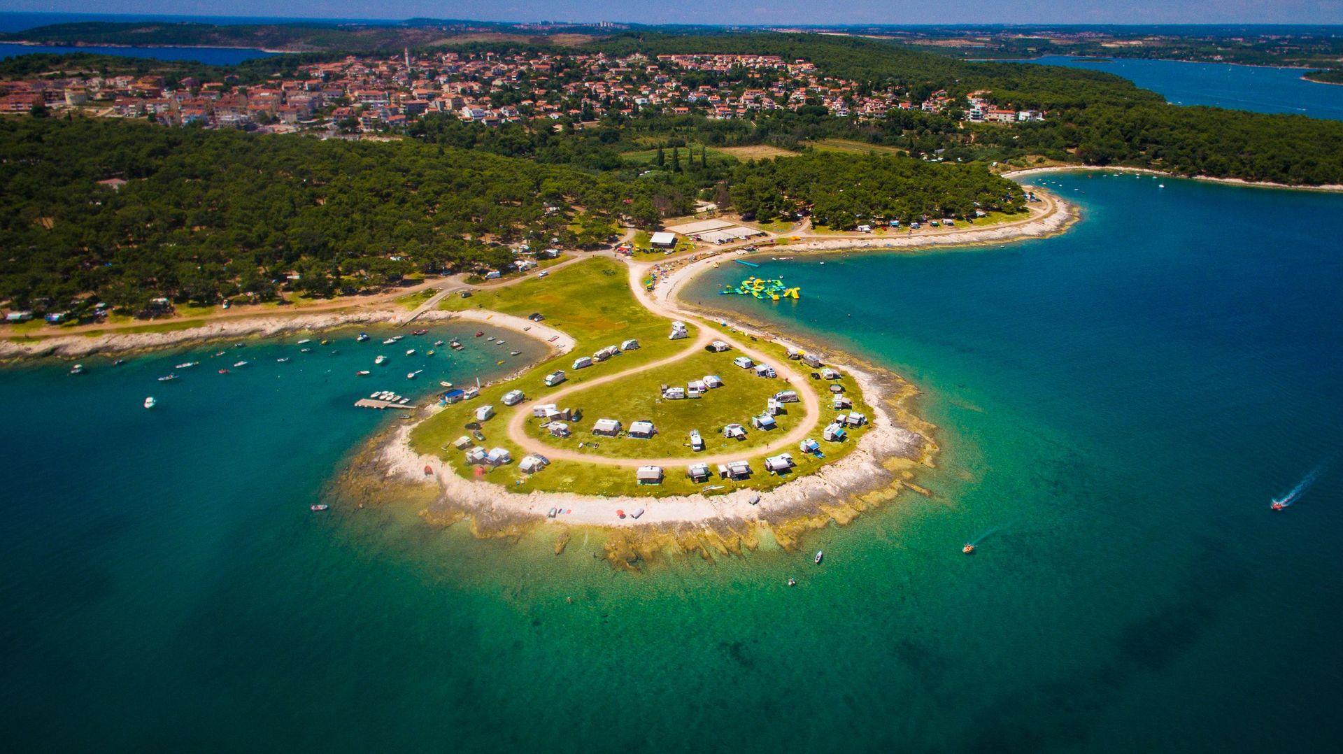 Camp Arena Stupice in Premantura - Istarska, Kroatië foto 8284408