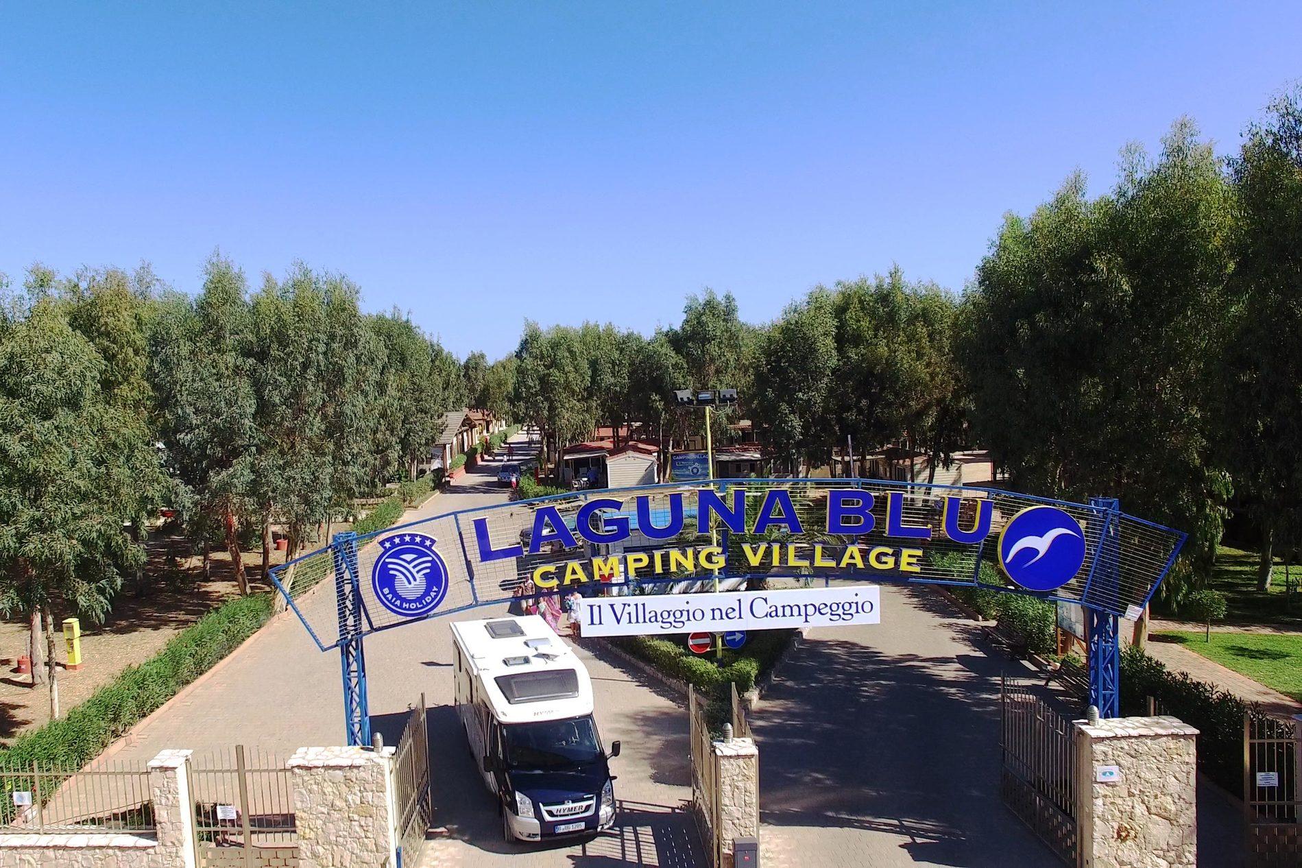 Camping Village Laguna Blu vissen in Italië
