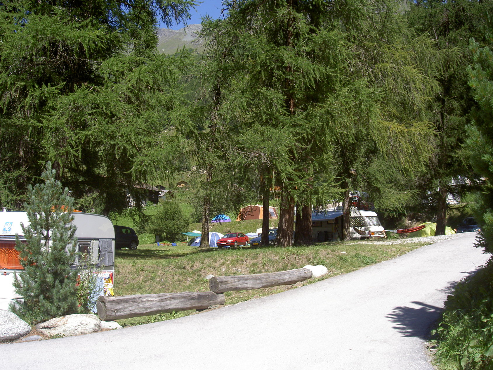 Camping molignon valais wallis zwitserland anwb for Camping a couture 49