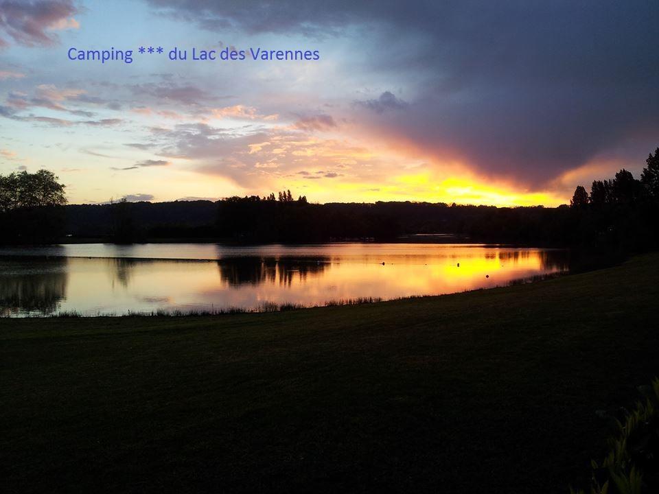 Camping Le Lac Des Varennes