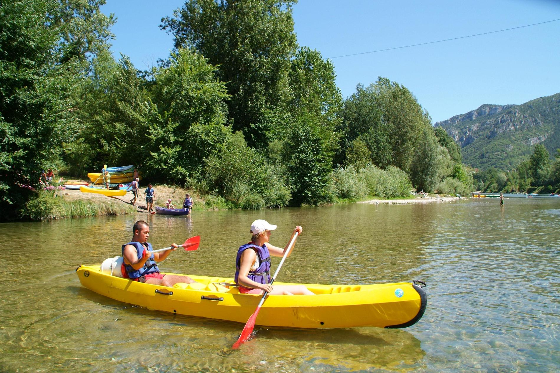 Camping Canoe Les Gorges Du Tarn