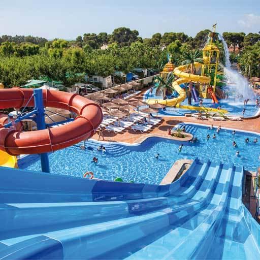 La marina resort valencia spanje anwb camping - Toboganes para piscinas baratos ...