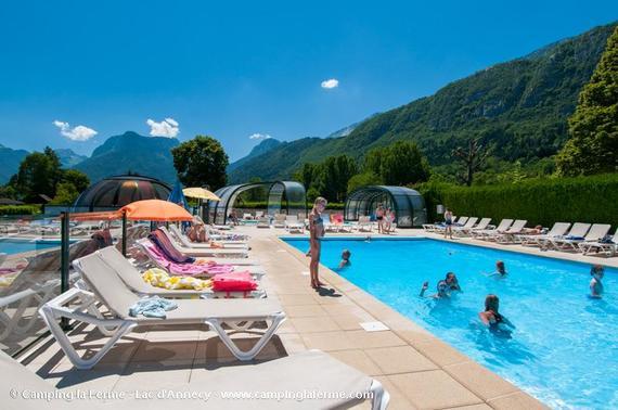 Camping haute savoie - Camping avec piscine haute savoie ...