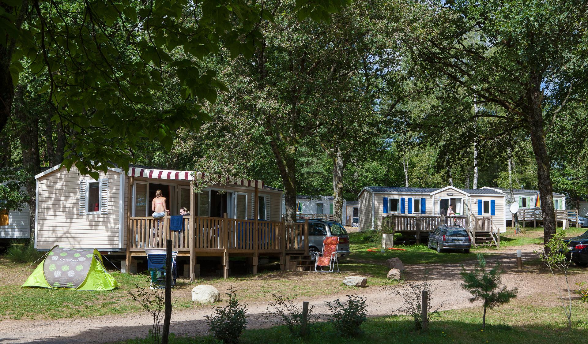 Camping du Lac de Miel