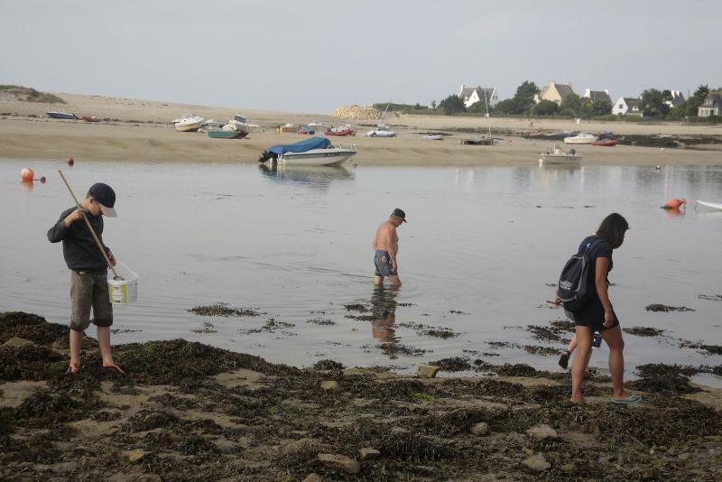 Camping de la plage bretagne frankrijk anwb camping