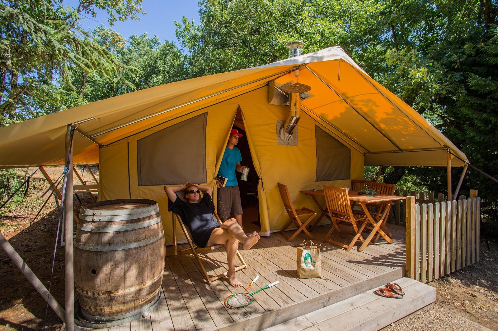 Camping Sites Et Paysages Bel' Époque Du Pilat