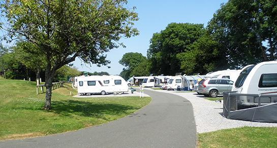 Looe Caravan and Motorhome Club Site