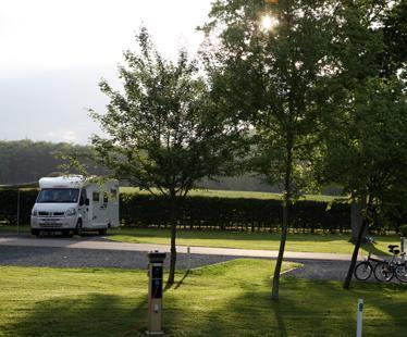 Longleat Caravan and Motorhome Club Site
