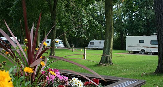 Balbirnie Park Caravan and Motorhome Club Site