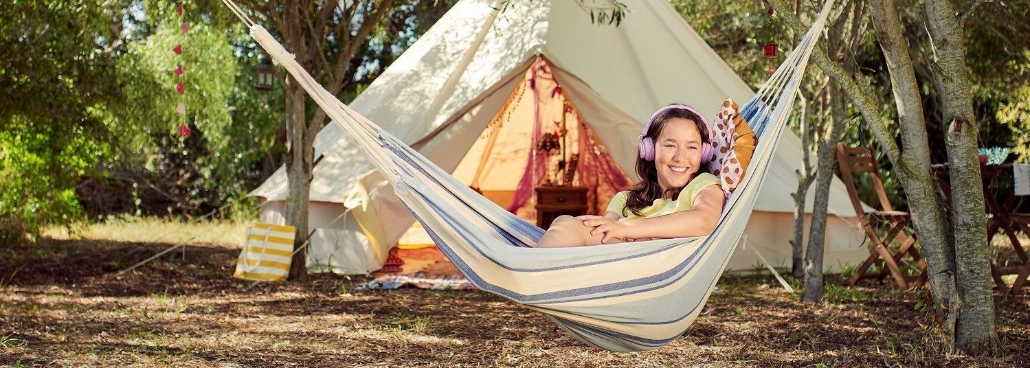 Fotoshoot ANWB Camping